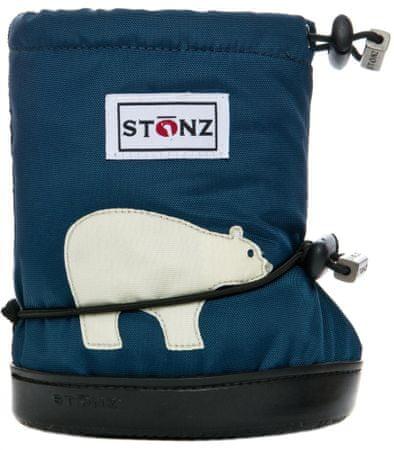 Stonz gyermek vízálló zoknik/ujjak/hó Polar Bear 23 kék