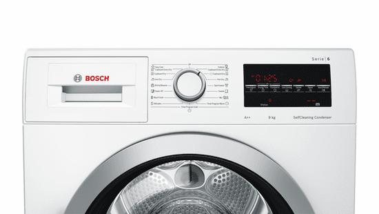 Bosch sušička prádla WTW85461BY