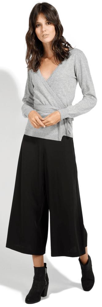 William de Faye dámský svetr XL světle šedá