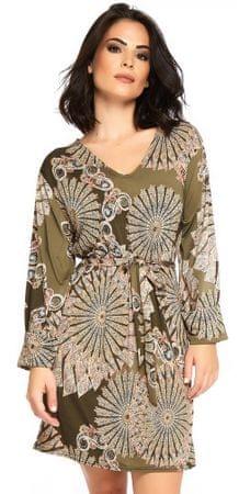 ANOUSHKA dámské šaty Marie L khaki