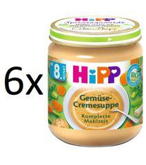 HiPP 6x Krémová polévka zeleninová