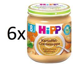 HiPP 6x Krémová polévka bramborová se zeleninou