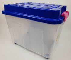 Heidrun škatla za shranjevanje Kubrik, 75 l, modra