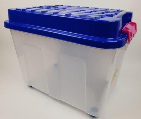 Heidrun kutija za pohranu Kubrik, 100 l, plava