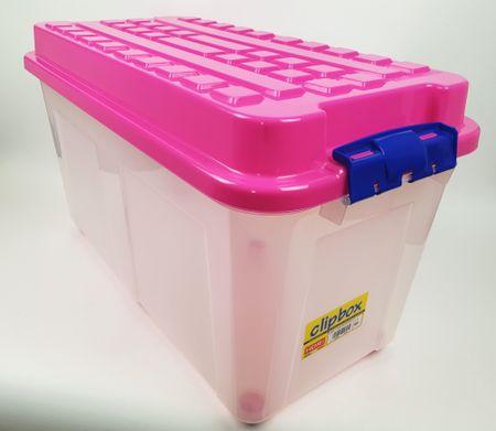 Heidrun kutija za pohranu Kubrik, 100 l, roza