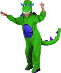 MaDe Dinoszaurusz jelmez M, zöld
