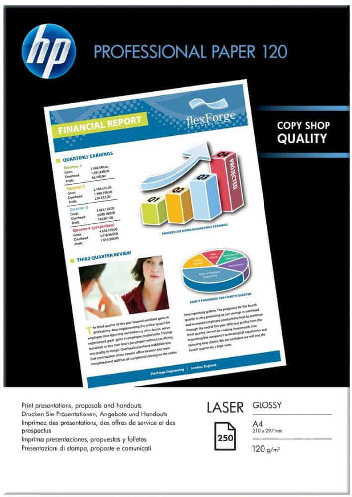 HP Glossy Profesional Laser (CG964A)