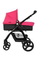 Top Mark PURE kombinovaný kočárek Pink 3v1