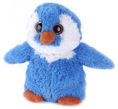 Albi Hřejivý tučňák modrý