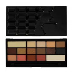 Makeup Revolution Zázračná paletka očních stínů Hříšná čokoláda (I Heart Makeup Chocolate Vice)