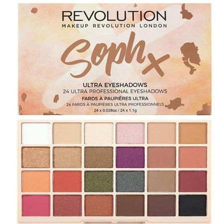 Makeup Revolution SophX 24 Eye Shadow Palette (Eyeshadow Palette) 26,4 g