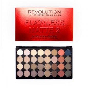 Makeup Revolution Ultra paleta 32 cieni bez wad matowy 2 (32 bez wad matowy powiek Paleta 2 Ultra)