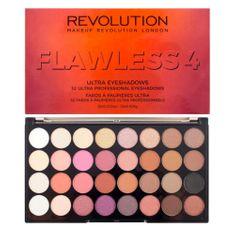Makeup Revolution Paletka 32 očních stínů Flawless 4 20 g