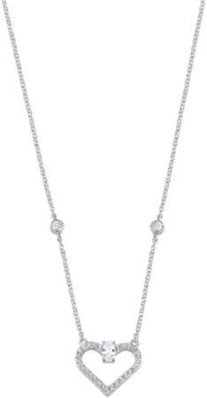 Morellato Romantický strieborný náhrdelník Cuori SAIV04 striebro 925/1000