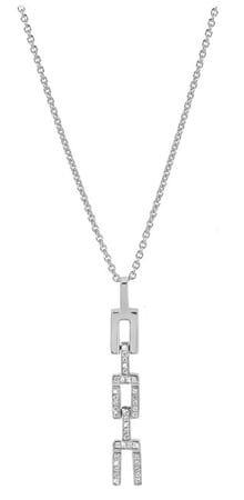 Silver Cat Fashion náhrdelník so zirkónmi SC290 striebro 925/1000