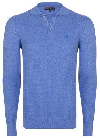 FELIX HARDY sweter męski M niebieski