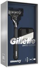 Gillette Mach3 Dárkové Balení S Holicím Strojkem + Stojan Na Strojek