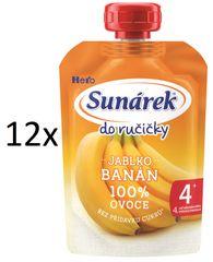 Sunárek 12x Do ručičky-banán - 100g