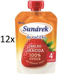 Sunárek 12x Do ručičky jahoda - 100g