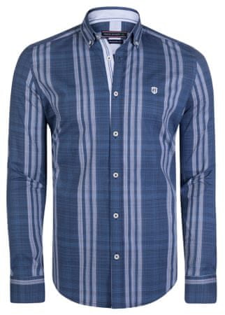 FELIX HARDY pánská košile M tmavě modrá  3c2db7a921