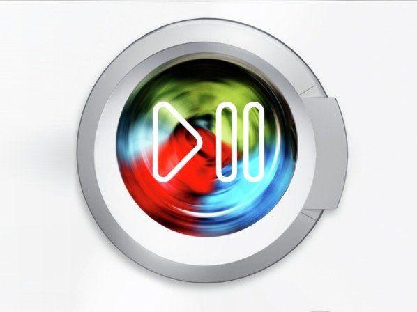 Bosch WVH28420BY Možnost doplnění prádla během praní s funkcí Reload
