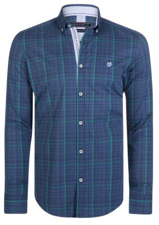 FELIX HARDY pánská košile L tmavo modrá