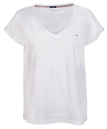 Tommy Hilfiger Dámské triko Vn Tee Ss White UW0UW00676-100 (Velikost ... f46a72bc605