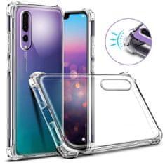 Antishock silikonski ovitek za Huawei Y5 2018, prozoren