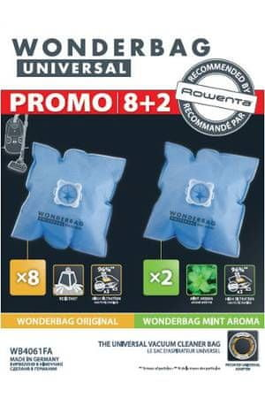 Rowenta vrečke za sesalnik WB4061FA Wonderbag Original x8 + Wonderbag Mint Aroma x2