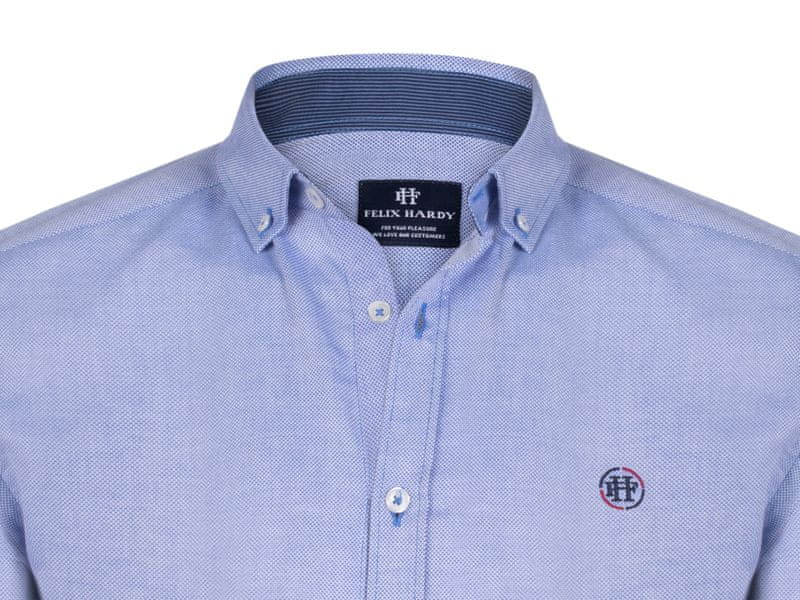 ... 3 - FELIX HARDY pánská košile M modrá ... 7c45b70451