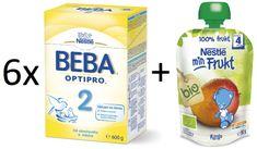 Nestlé 6x OPTIPRO 2 600g + 6x BIO Mango kapsička 90g