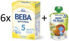 Nestlé 6x OPTIPRO 5 + 6x BIO Mango kapsička 90g