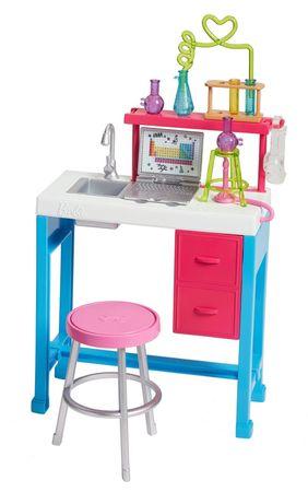 Mattel Barbie Tökéletes munkahely - tudományos laboratórium