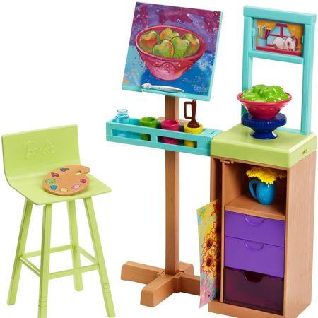 Mattel Barbie Dokonalé pracoviště - malířské studio