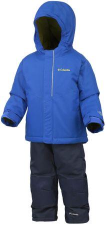 COLUMBIA zimowy komplet dziecięcy Buga Set Super Blue XS