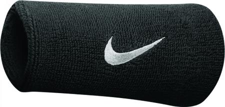 Nike Swoosh Doublewide Wristbands Black