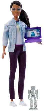 Mattel Barbie Inżynier Brunetka