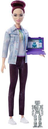 Mattel Barbie inženjerka robotike, ljubičasta kosa