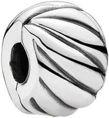Pandora Stříbrný vzorovaný klip 791752 stříbro 925/1000