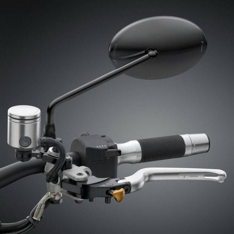 Rizoma zpětné zrcátko B-ONE, E-mark, HARLEY DAVIDSON - LEVÉ nebo PRAVÉ pro motocykly, černá