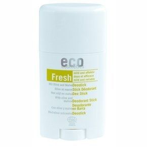 Eco Cosmetics Tuhý dezodorant BIO s olivovým listom a slezom 50 ml