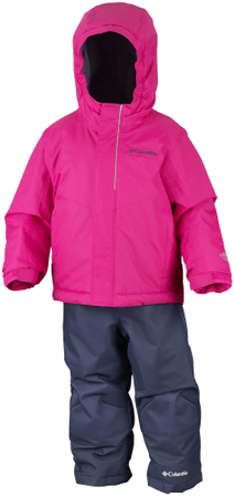 Columbia otroški zimski komplet Buga Set Cactus Pink, roza, 2T