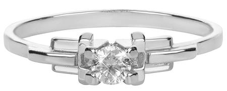 Brilio Silver Stříbrný zásnubní prsten 426 001 00499 04 - 1,25 g (Obvod 54 mm) stříbro 925/1000