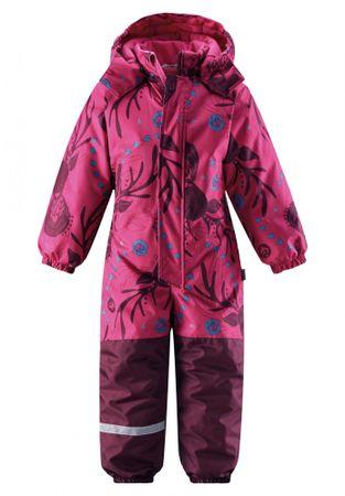 Lassie Zimní Overal Pink 104