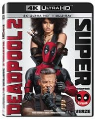 Deadpool 2  (2 disky) - Blu-ray + 4K ULTRA HD