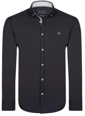 3b8ef8cc461 FELIX HARDY pánská košile M černá