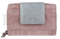 Lagen Női bőr pénztárca 931 Szilva/Silver