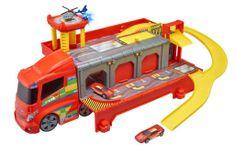 Alltoys Teamsterz hasičská stanice - tahač