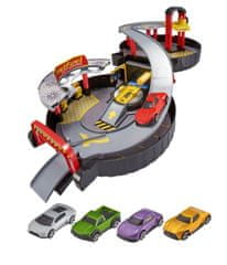 Alltoys Teamsterz skládací garáž s autíčky