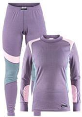 Craft ženski set majica + hlače Baselayer Aura/Misty